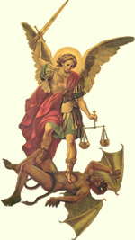 St. Michael the Archangel, satan